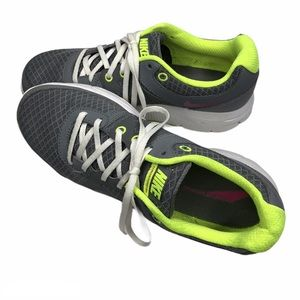 NIKE Lunar Forever running shoe grey and green | 9